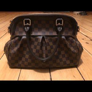 Authentic Louis Vuitton Damien Ebene Trevi PM